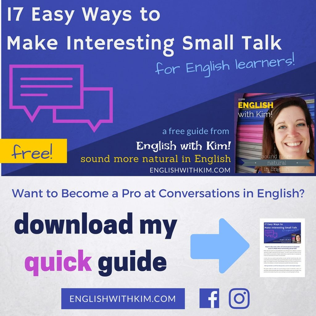 17 Easy Ways to Make Interesting Small Talk for English Learners