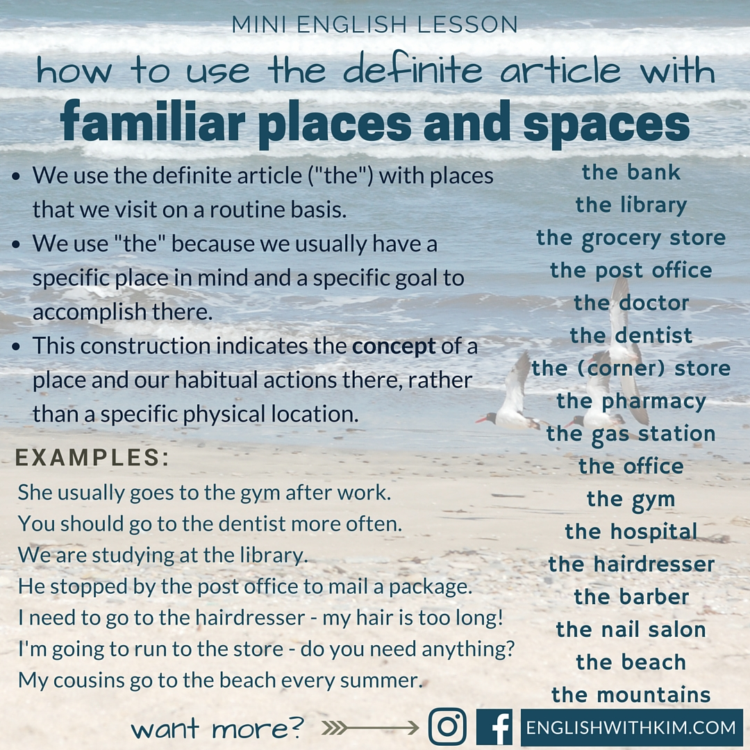 definite english grammar