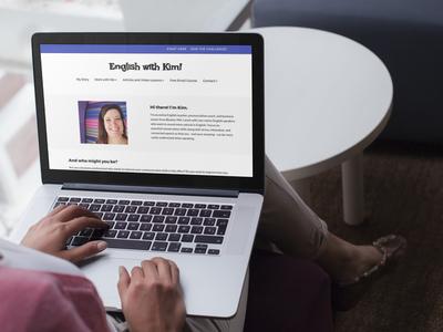 Contact English with Kim