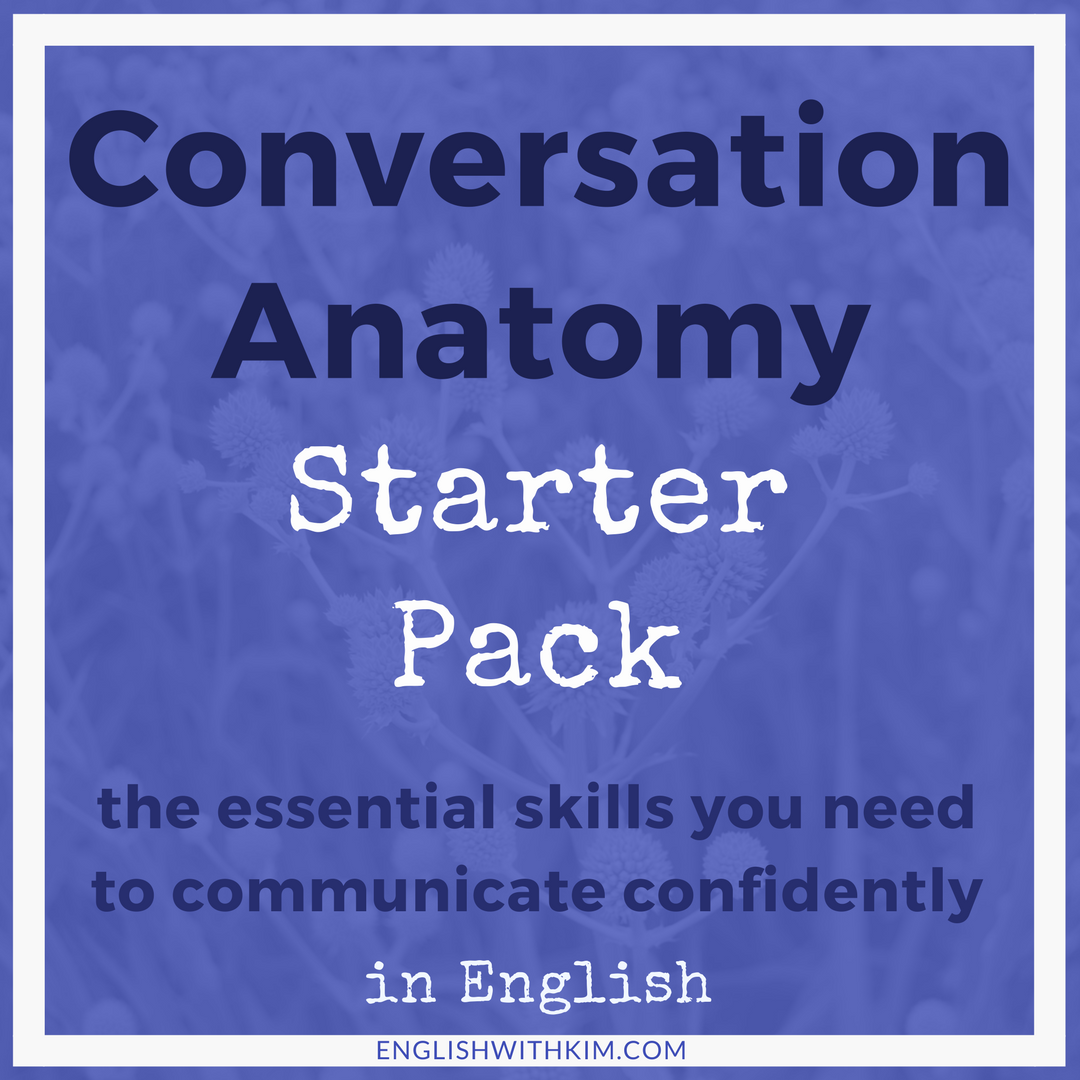 Conversation Anatomy Starter Pack