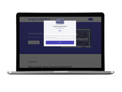 Accent Assessessment Payment Page
