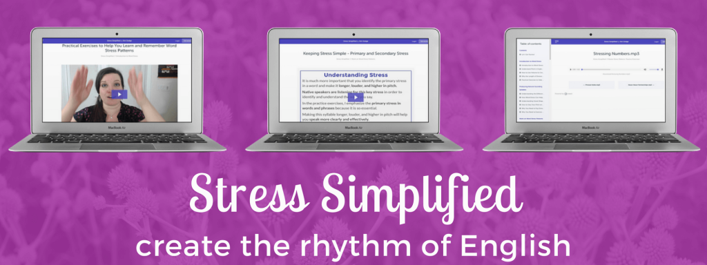 Stress Simplified - Sample Lessons