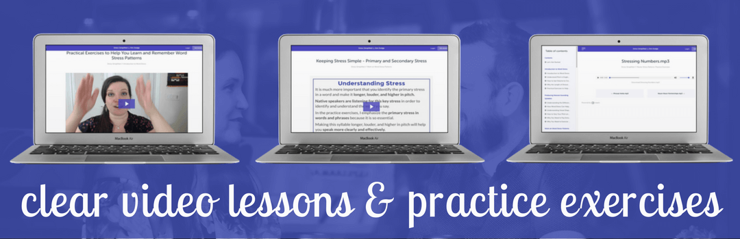 Stress Simplified - Clear Video Lessons and Practice Exercises