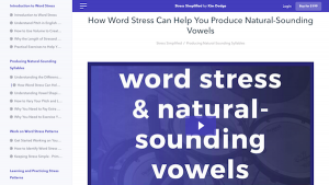 Natural Sounding Syllables