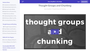 Thought Groups and Chunking