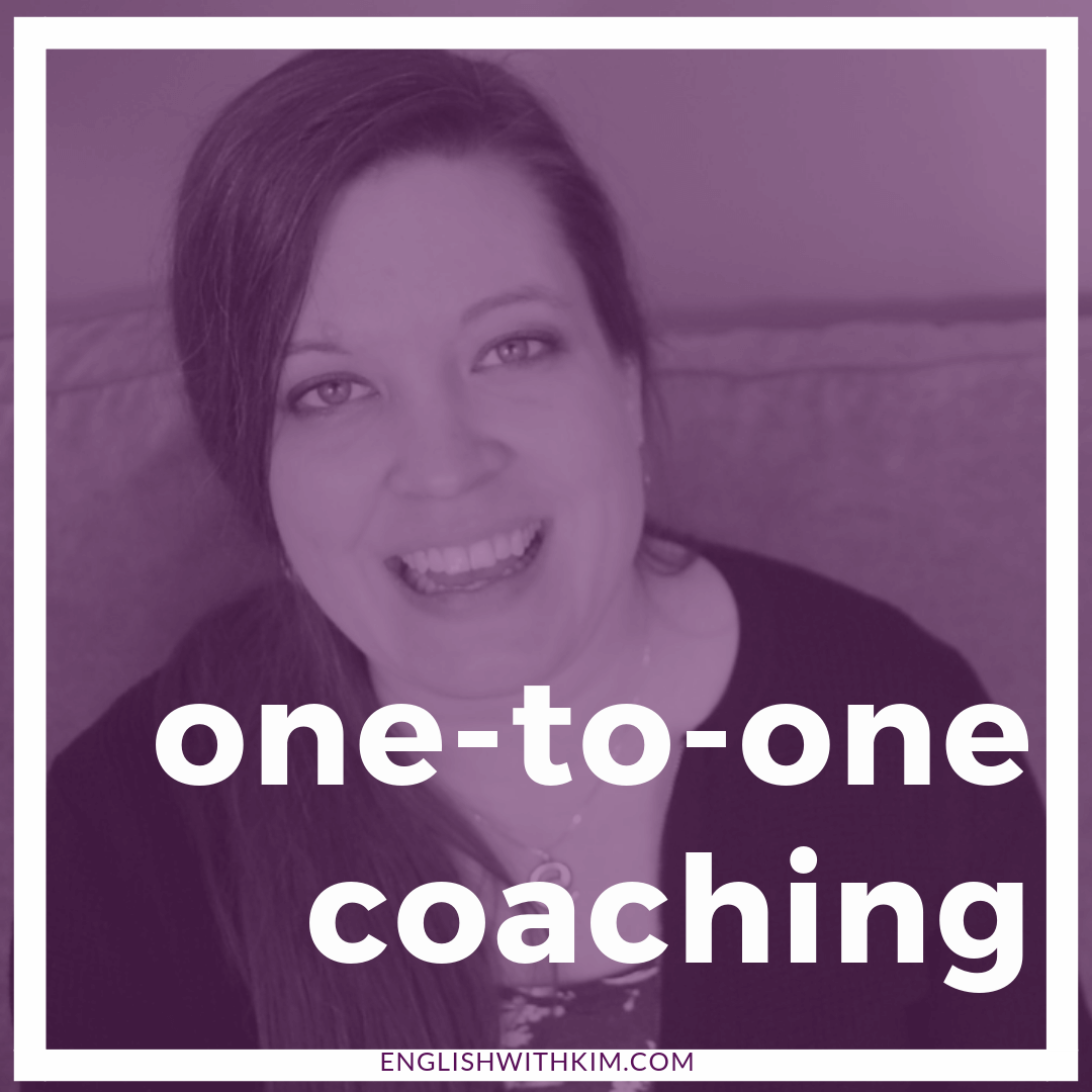 One-to-One Coaching with English with Kim