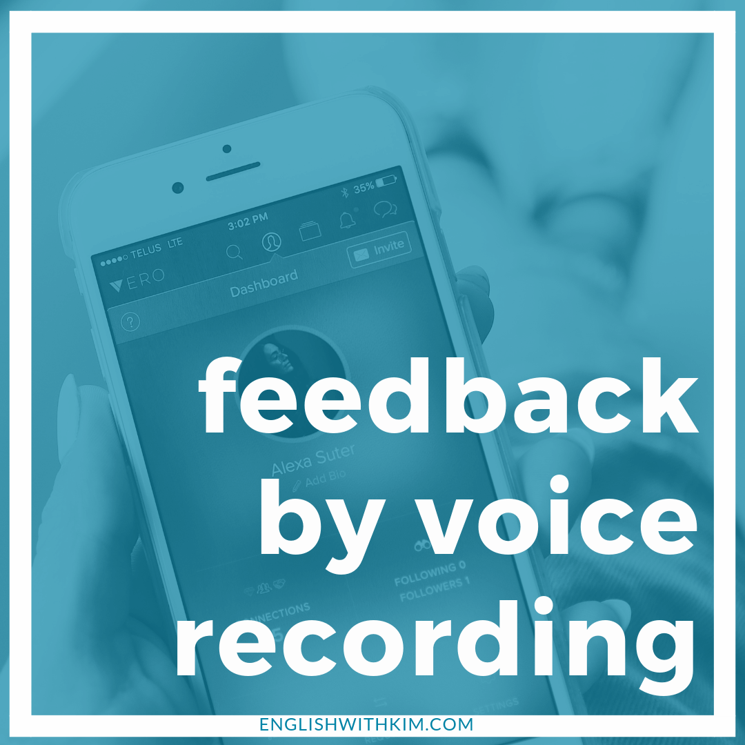 American Accent Advice and Feedback via Voice Recording