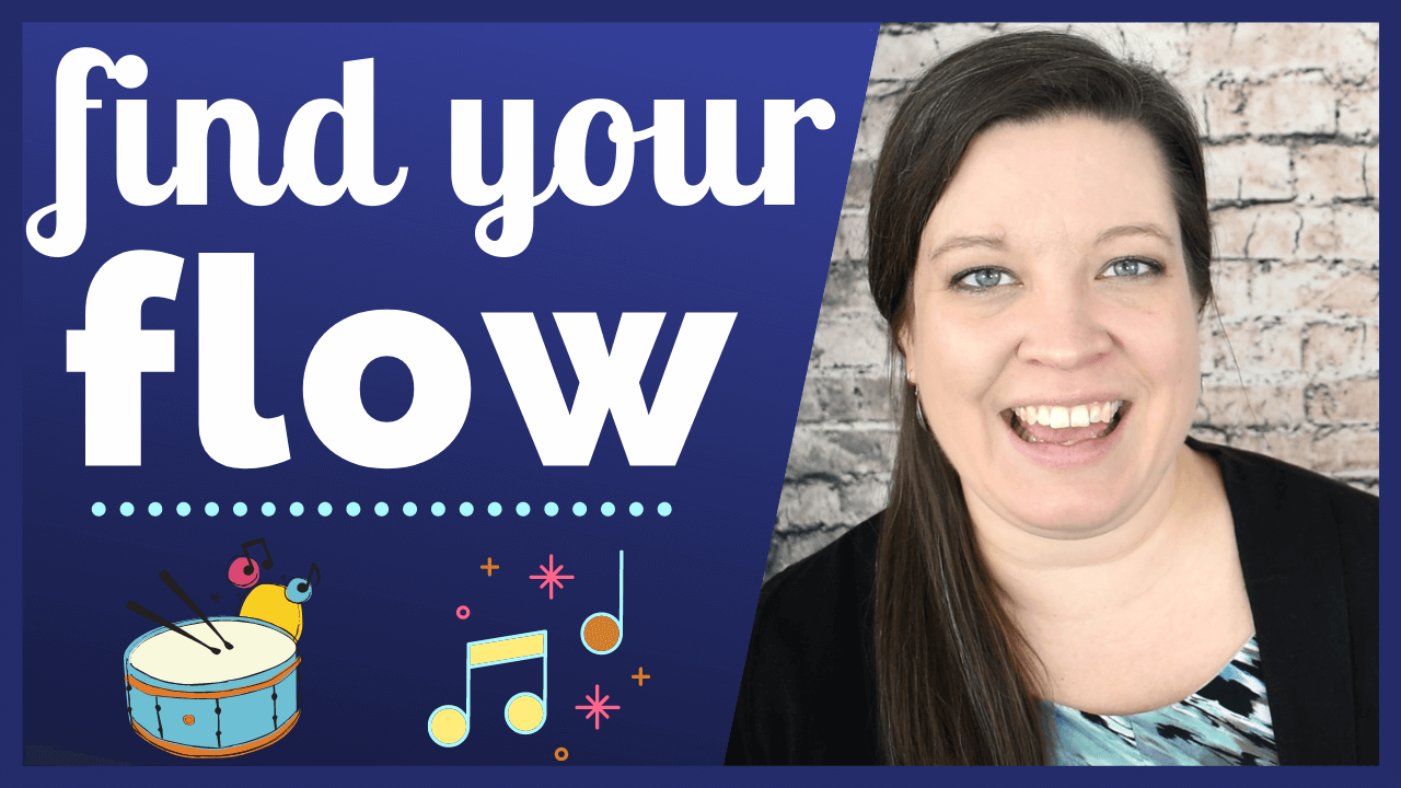 Find Your Flow When Speaking English - Stress, Rhythm, Melody, Contrast and Thought Groups
